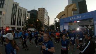 Participantes del Medio Maratón de la CDMX