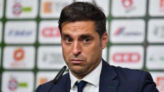 Diego Alonso, técnico de Monterrey, en conferencia de prensa