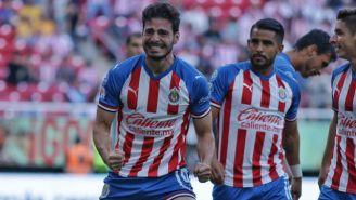Briseño, en festejo de gol ante Tigres