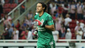 Toño Rodríguez, en el juego entre Chivas y Tigres del A2019