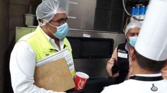 Autoridades supervisan las instalaciones del TSM