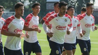 Hiram Mier y Oswaldo Alanís entrenan con Chivas