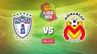 EN VIVO y EN DIRECTO: Pachuca vs Morelia