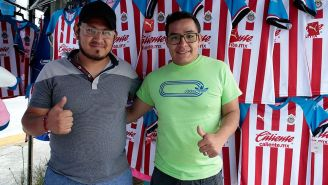 Alberto Morales y Ricardo Correa previo al Puebla vs Chivas