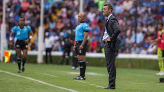 Pedro Caixinha en el Querétaro vs Cruz Azul