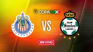 EN VIVO y EN DIRECTO: Chivas vs Santos