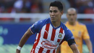 Jesús Molina, durante el partido contra Tigres