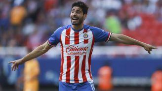 Antonio Briseño durante un partido contra Tigres