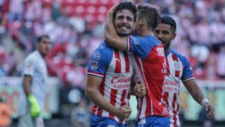 Antonio Briseño celebra su gol ante Tigres