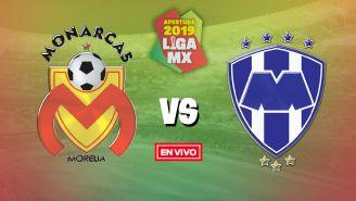 EN VIVO y EN DIRECTO: Morelia vs Monterrey