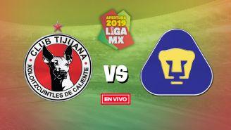 EN VIVO y EN DIRECTO: Tijuana vs Pumas