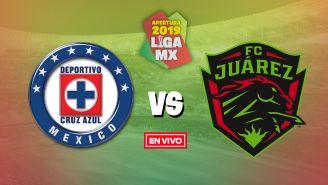 EN VIVO y EN DIRECTO: Cruz Azul vs Juárez