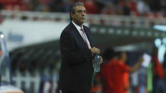 Tomás Boy durante un juego de Chivas