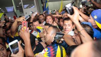 Memo Ochoa a su llegada a la Ciudad de México