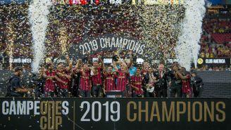 Atlanta United celebra su título de la Campeones Cup