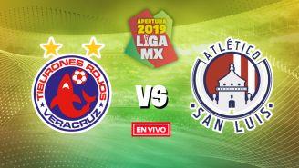EN VIVO Y EN DIRECTO: Veracruz vs Atlético de San Luis