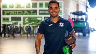 Adrián Aldrete, previo a un viaje con Cruz Azul