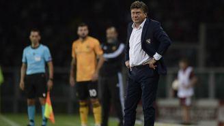 Walter Mazzarri durante el partido ante el Wolverhampton