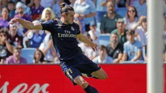 Gareth Bale en el juego frente al Celta de Vigo