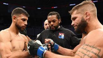 Yair Rodríguez y Jeremy Stephens previo a su enfrentamiento