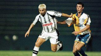 Antonio Mohamed en la Libertadores de 1999 con Rayados