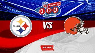 EN VIVO Y EN DIRECTO: Steelers vs Browns