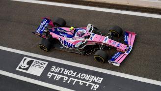 Sergio Pérez en el Gran Premio de Abu Dabi