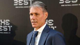 Marco van Basten en la gala de los premios The Best