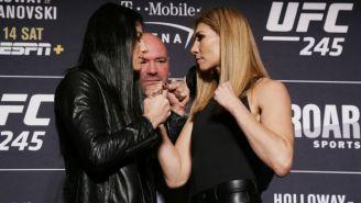 Irene Aldana y Ketlen Vieira previo a su pelea