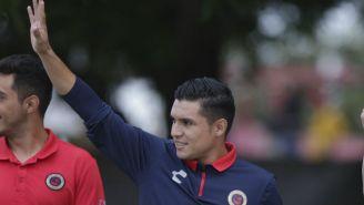 Paganoni, en un partido del Veracruz