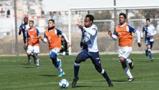 Acción en el Pachuca 4-1 Puebla