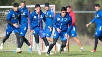 Jugadores del Atlético San Luis en un entrenamiento