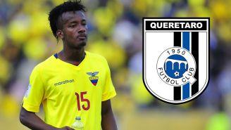 Querétaro: Jefferson Orejuela en partido con Ecuador