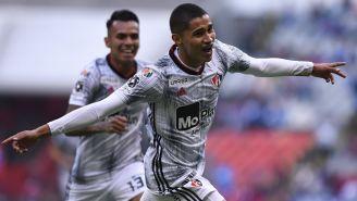 Márquez celebra el primer gol de los Zorros sobre La Máquina