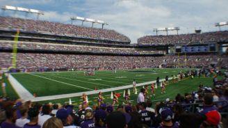 Partido de los Ravens en el M&T Bank Stadium
