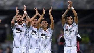 Jugadores de Atlas tras el partido contra Cruz Azul