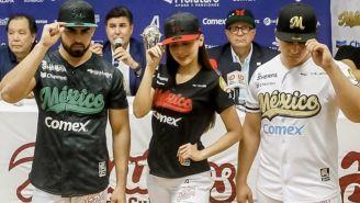 Presidente de la LMP presentó uniformes de México para la Serie del Caribe 2020