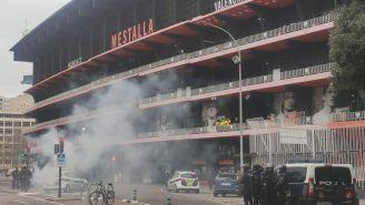 Inmediaciones del Estadio de Mestalla
