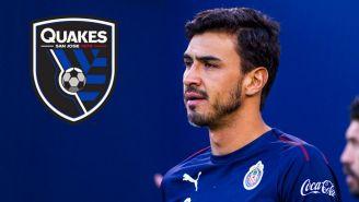 Oswaldo Alanís, nuevo jugador del San José Earthquakes