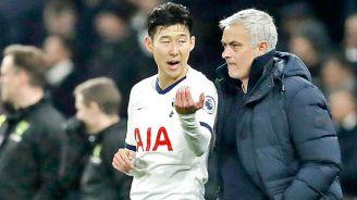 Mourinho da indicaciones a Son en la Premier League