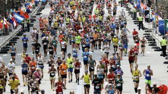 Maratón de Boston en abril del 2017