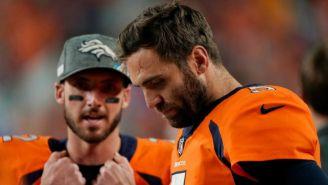 Denver Broncos cortó a Joe Flacco y se convierte en agente libre