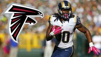 Todd Gurley pactó con Atlanta Falcons por una temporada