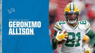 Geronimo Allison, exreceptor de Packers, firmó con Detroit Lions