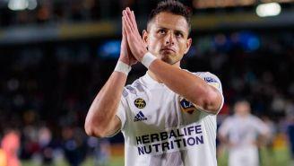 Chicharito Hernández agradece a la afición del Galaxy