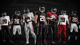 Atlanta Falcons presentó sus nuevos uniformes para la campaña 2020