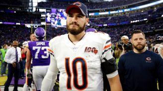 Chicago Bears rechazó opción de quinto año de Mitchell Trubisky