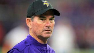 Mike Zimmer, coach de Vikings prepara el inicio de la NFL con su hijo