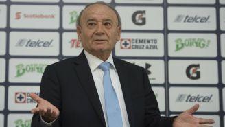 Guillermo Álvarez en conferencia de prensa