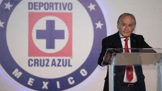 Billy Álvarez, en conferencia de prensa